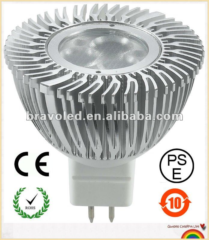 high power 3w LED spotlight MR16-CREE XPE