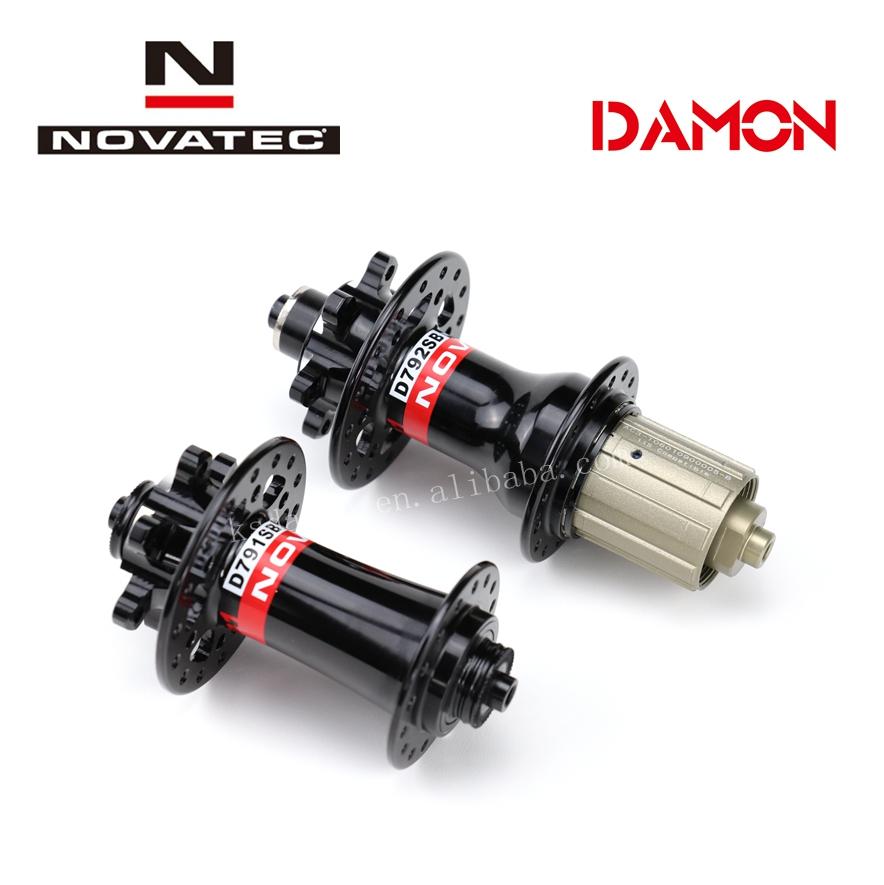 NOVATEC Hub 24 28 32H Mountain MTB Bike disc brake Hubs Front D791SB Rear D792SB