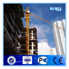 QTZ80 static tower crane with telescopic cage from China