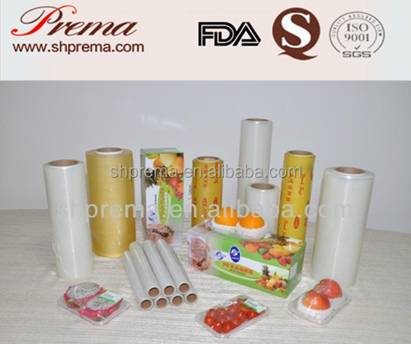 FDA APPROVED Food Grade PVC Cling Film