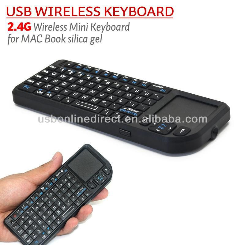 2.4G Mini Wireless Keyboard For Google Nexus 4 Android TV Box Mobile Phone Smart Phone Wireless touchpad silicone mini keyboard
