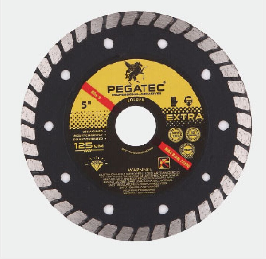 125MM PEGATEC diamond clinker cutting disc for granite --dry and wet use Diamond Blades