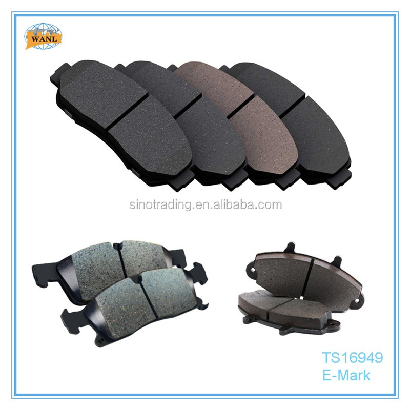 Chinese car parts manufacturers of brake pads