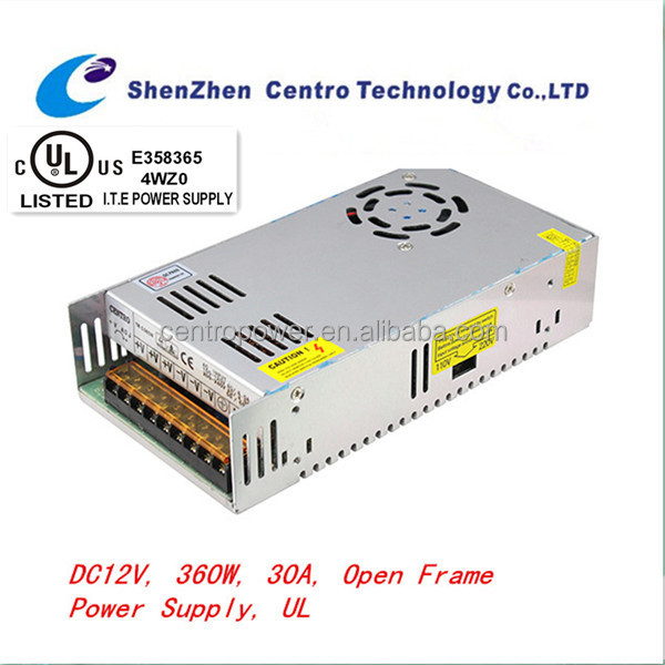 s-360-12 power supply high quality switching power supply UL,CE,FCC,ROHS approved