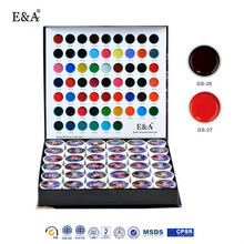 E&A cover color gel 36 colors nail art good quality cover color gel kit