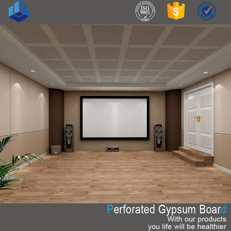 Gypsum board history/ 20 years running experiences for perforated gypsum board