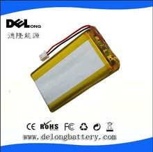 China supplier low price OEM/ODM 3.7V li-ion polymer battery 5000mah 105080