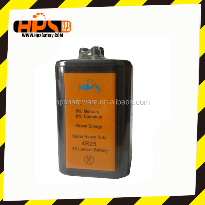 6 Volt Lantern Battery for Flash Warning Light