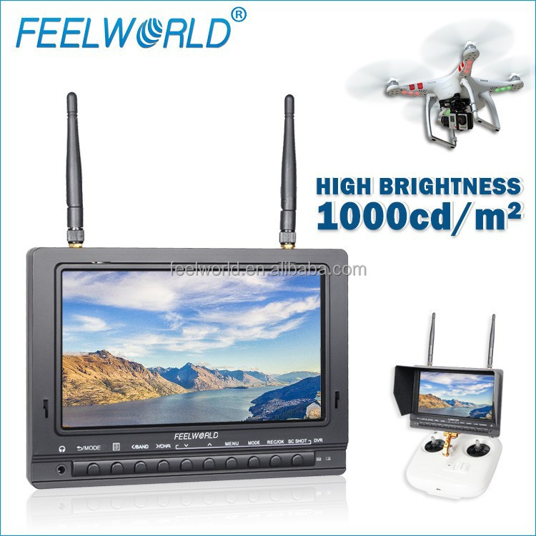 "Cool!!! FEELWORLD rc wireless helicopter with camera 7"" HDMI/AV/RF input monitor best quadcopter shenzhen china"