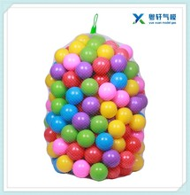 Colorful 5.6cm Fun Plastic Soft Balls Swim Toys Ocean Ball for Pools