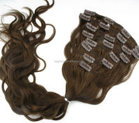 Thick Ends ! Double Drawn Factory Wholesale Popular Spiral Curl Hair Clip In