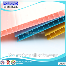 Polygao grade A high quality twin wall polycarbonate hollow sheet for greenhouse