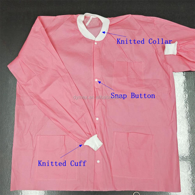 Antistatic Cleanroom Clothes Lab Coat for Women