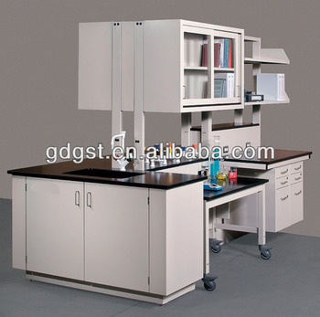 All Steel Lab Bench Table