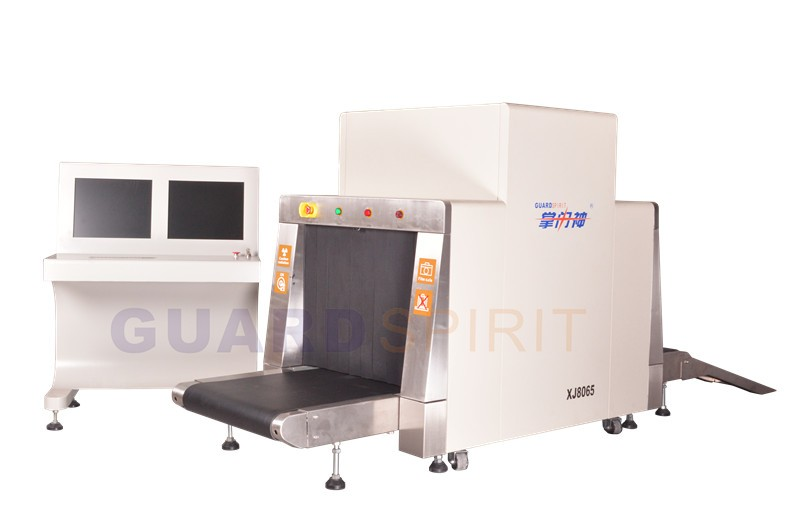 wholesale middle size XJ8065 airport x-ray baggage scanner machine for security inspection