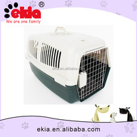 New Dog Products Sturdy Dog Carrier Box With Metal Door