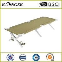 Wholesale lightweight portable reclining folding iron bed