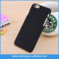 simple design top quality mobile phone accessories,rubberized matte pc case for iphone 6