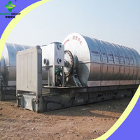 D2800*L6600 10T per day Used Tyre To Oil Machine Pyrolysis Technology