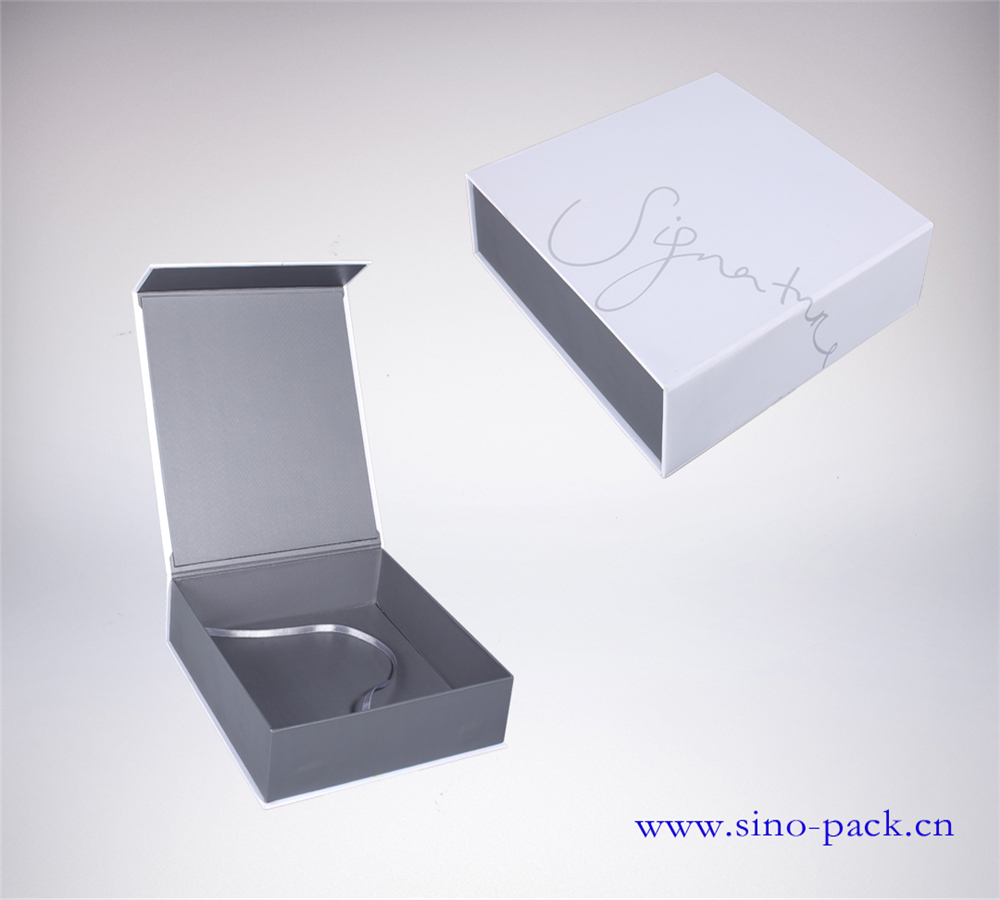 paperboard paper type accept custom order magnetic gift box