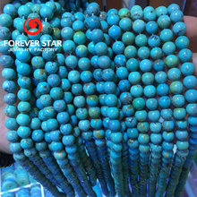 Natural Turquoise Beads Green Turquoise Round Beads