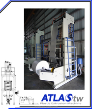 ATLAS Limit Buget Mini Type plastic blown film extruder machine
