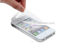 Korea PET Anti-Oil Anti-Fingerprint Clear Anti Scratch Touch Screen LCD Guard Protector Review For iPhone 4 4s