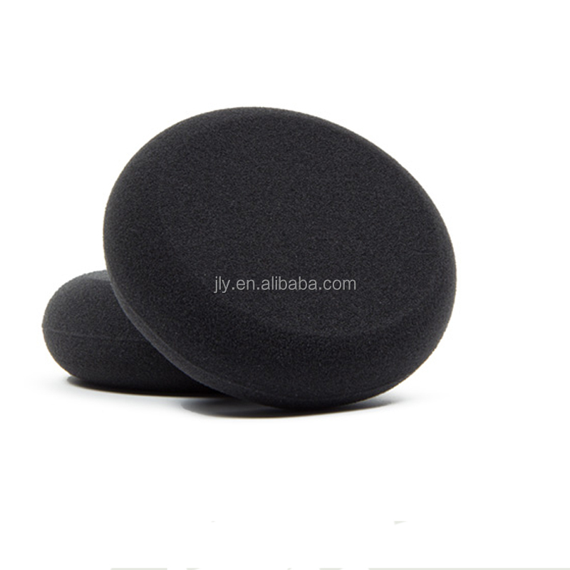 Popular 2016 Hot Sell!Dual Layered Soft Foam Wax Applicator/BLACK WAX APPLICATOR PAD