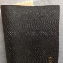 embossed fake snake skin leather for furniture decoration