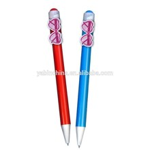 Charming lady sunglasses promotional palstic ball pen for wholesala directly by factory