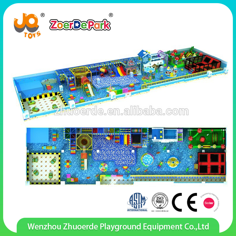 Good design ice and snow theme kids indoor playground equipment