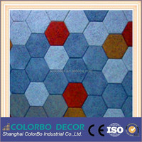 Cinema acoustic panel micro perforated wood wool panels