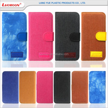 2017 Bulk buy from china phone accessories mobile phone leather case for iPhone 7 with magnet buckle