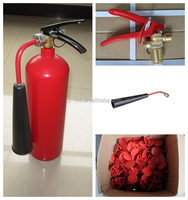 Fire and safety system CO2 2KG/portable fire extinguishers