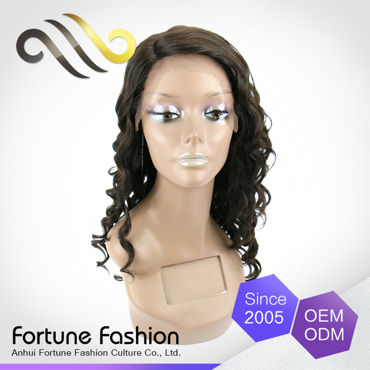 Wholesale Cheap Good Quality Elastic Band Brazilian Hair Glueless Full Lace Wig