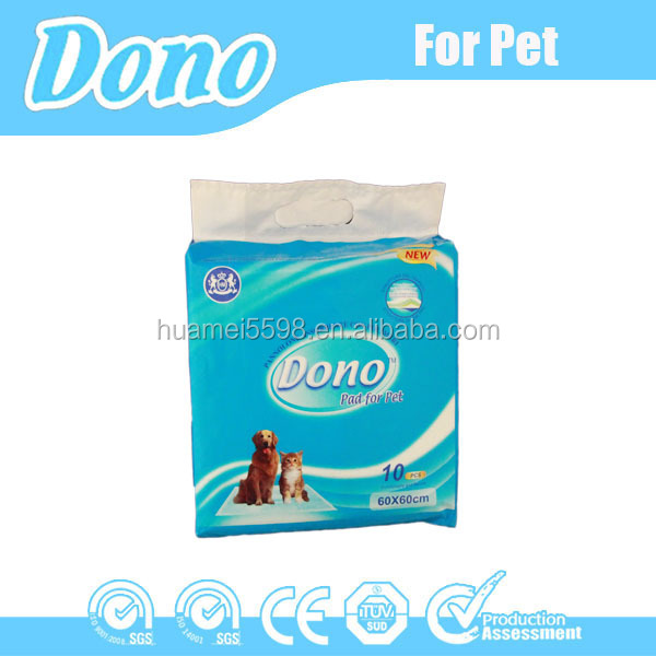 2016 Top Selling Disposable Pet Pad /Dog Urine Sleeping Pads