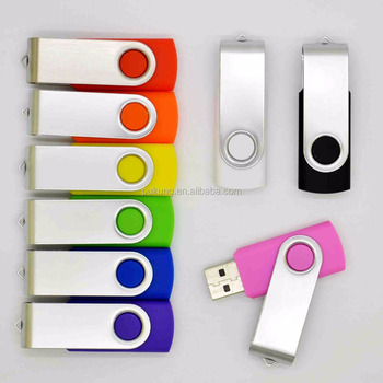 Customized logo colorful Swivel usb flash drives