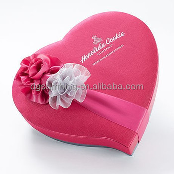 Heart shape gift box