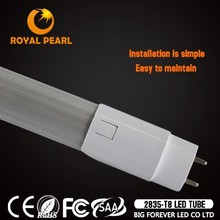 Glass aluminum cover 24w xxx aminal video led tube lighting