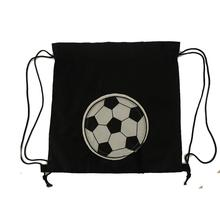 Wholesale New Products 2016 Polyester Soccer Drawstring Gym Bag For Packaging