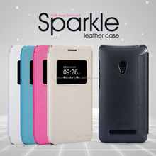 Nillkin Sparkle Series Caller ID Display Window Leather Flip Cover for Asus Zenfone 5