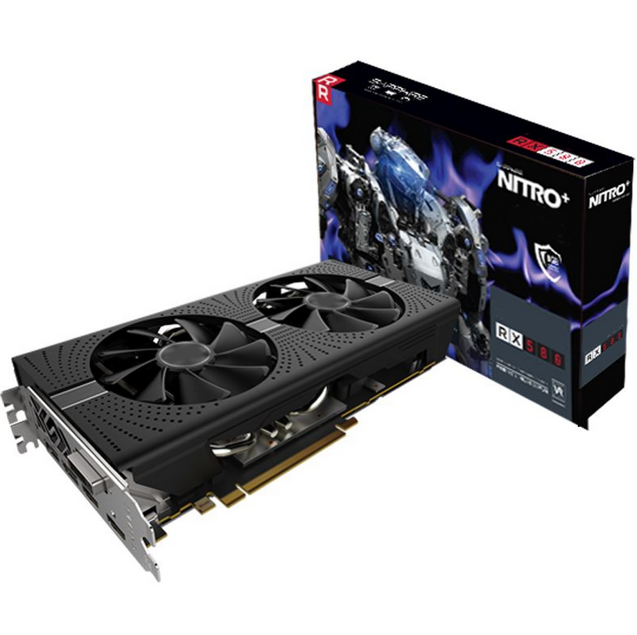 Stock graphics card AMD Radeon RX 570 for ethereum miner