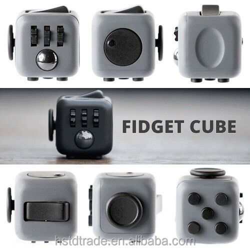 2016 New Design Desk Toys Fidget Cube Relieves Stress Anxiety for Children and Adult Toy