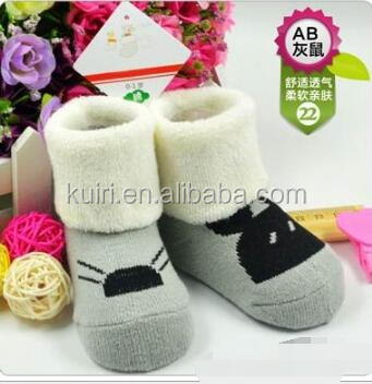 Wholesale Comfortable Baby Cartoon Knitting Socks