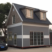 Shanghai modern prefabricated luxury house villa for sale