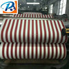 Red white striped fabric/white and blue stripes outdoor fabric