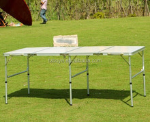 6FT FOOT (EXTRA WIDE) ALUMINIUM FOLDING 4 SECTION TABLE CATERING CAMPING PICNIC