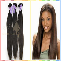 2015 top sale virgin hair 7A grade unprocessed shedding and tangle free hair extension