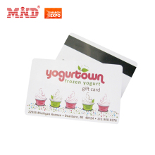 Factory price offset printing magnetic stripe gift card