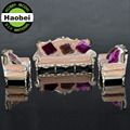 architectural plastic scale model sofa miniature European furniture